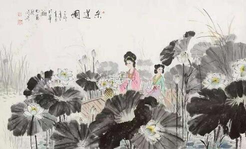 采莲子·菡萏香莲十顷陂